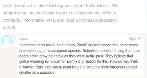 Zach blog