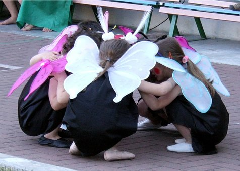 butterfly dancers