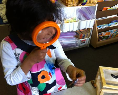 kinder magnifying glass