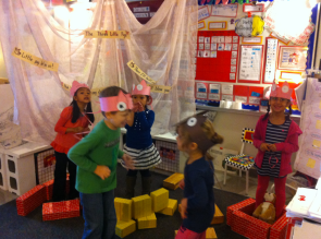 kinders dramatic play